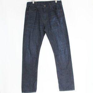 Levi's Mens 513 Slim Straight Fit Jeans 31 x 32